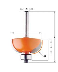 CMT Holprofielfrees radius 4,75 met lager
