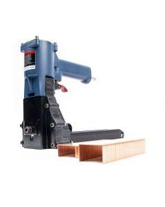 Pneumatische nietmachine / dozensluiter - 35P - 15-18mm