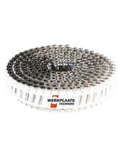 Nail screws op rol 2.8x55 RVS Plastic gebonden 15° Tx15 (6000)